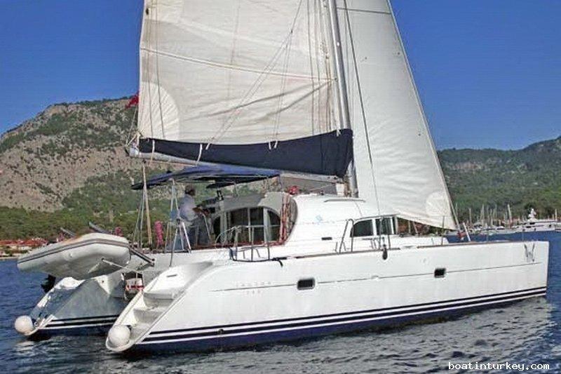 Luxus segel katamaran  Katamaran Segeln