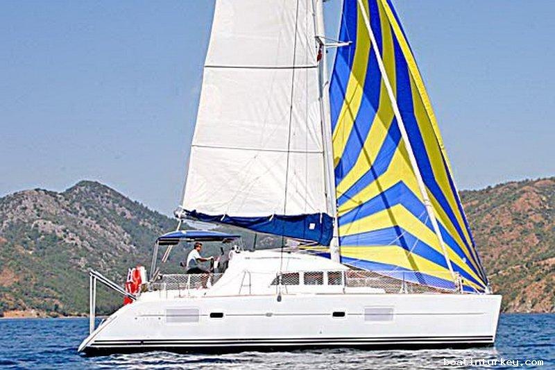 Katamaran segeln luxus  Katamaran Segeln
